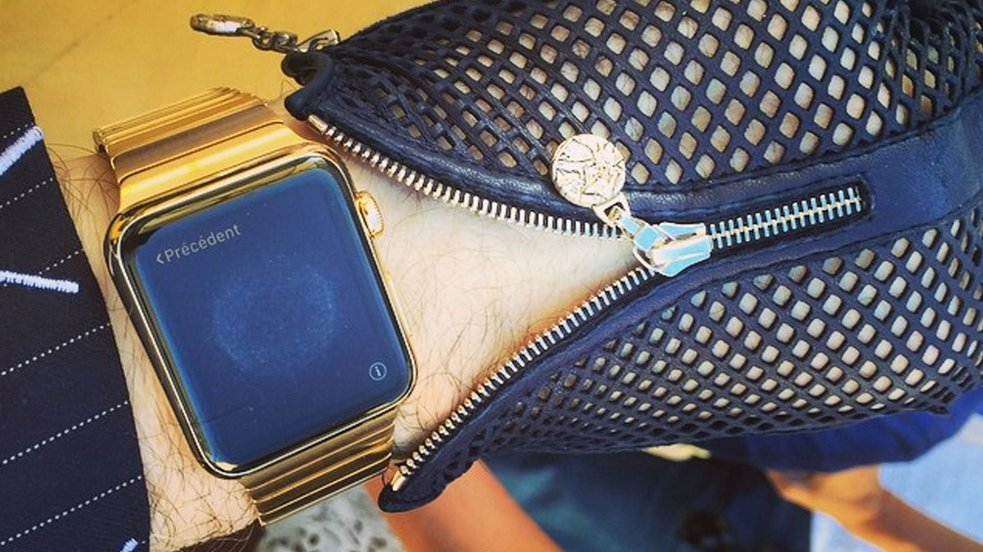 Unikat: Karl Lagerfelds besondere Apple Watch Edition