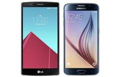 LG G4 und Samsung Galaxy S6:...