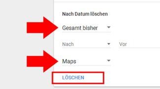 Google Maps: Verlauf löschen (Smartphone, PC) – so geht's