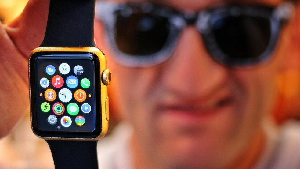 Goldene Apple Watch Edition selbst gemacht  [Video des Tages]