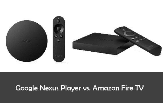 Google Nexus Player vs. Amazon Fire TV vs. Chromecast: Der Vergleich