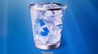 Papierkorb weg? So stellt ihr das Desktopsymbol wieder her