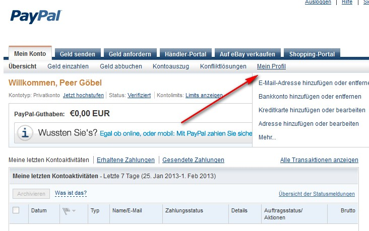 Paypal Konto Verifizieren Automatischer Anruf