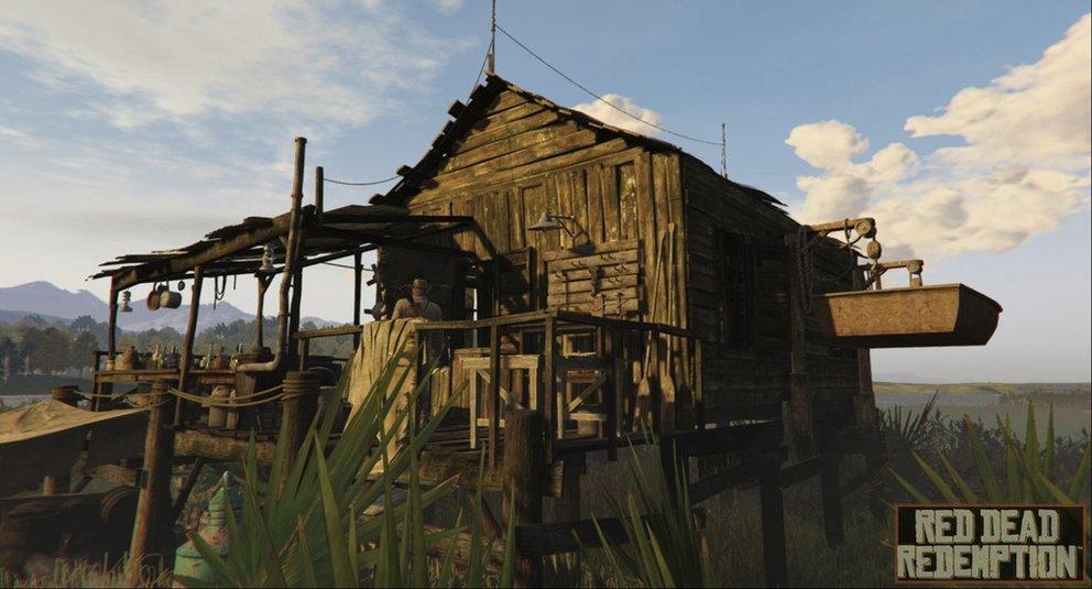Dieser Screenshot soll womöglich von Red Dead Redemption 2 stammen.