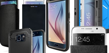 Samsung Galaxy S6 (edge): Hüllen, Cases, Taschen und Bumper aus Plastik, Leder und Stoff