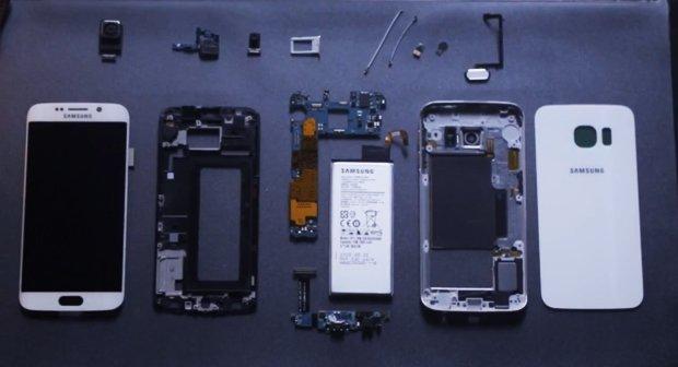"""Galaxy S6 Edge zusammengebaut – Samsung zeigt Flaggschiff im """"In-Boxing"""""""