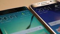 Samsung Galaxy S6 und S6 edge: Erstes Update verbessert Fingerabdrucksensor und mehr