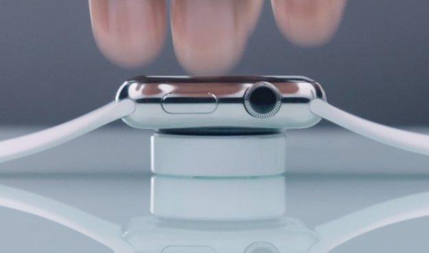 Apple Watch: Video zeigt versehentlich neue Ladestation
