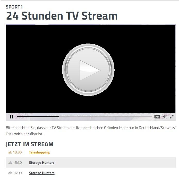 livestream sport kostenlos