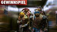Gewinnt Action-Figuren der Teenage Mutant Ninja Turtles!