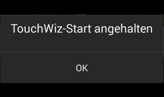 TouchWiz-Start angehalten bei Samsung Galaxy Note, S4 und Co. – Lösungen und Hilfe