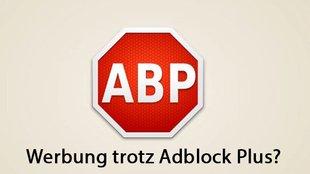 Werbung Trotz Adblock
