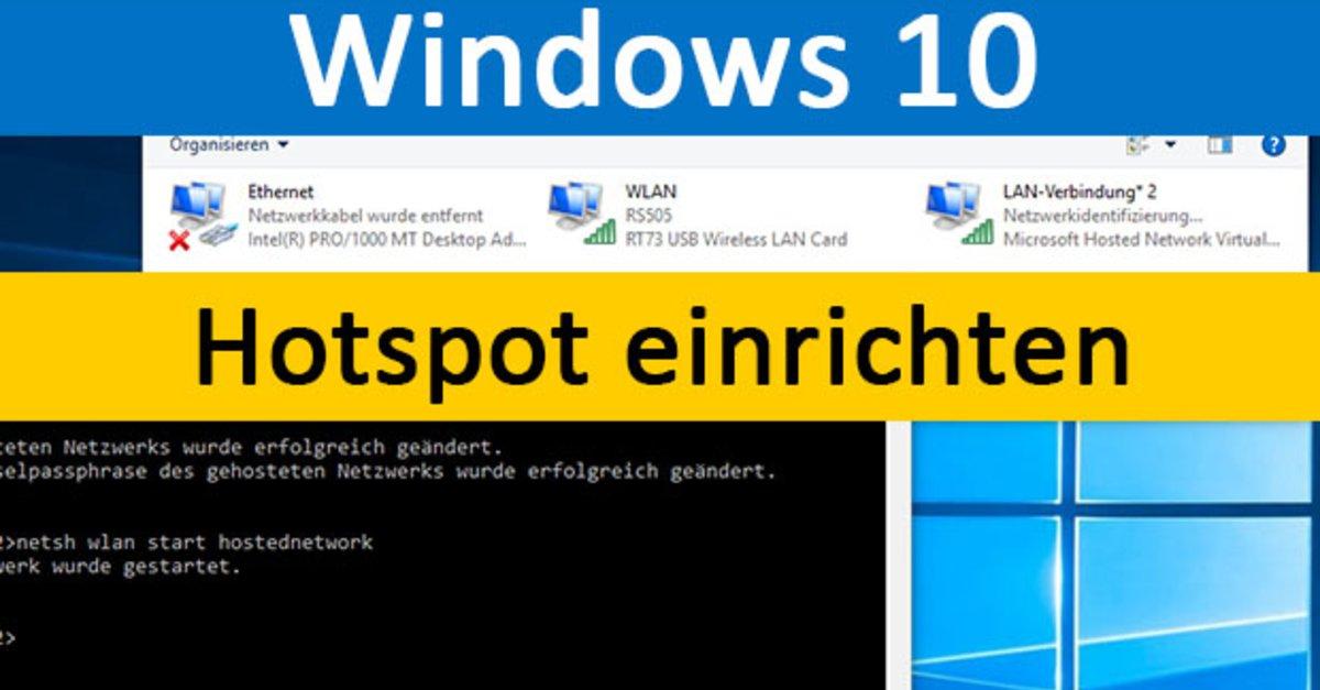 Windows 10 Hotspot Einrichten So Geht S Giga