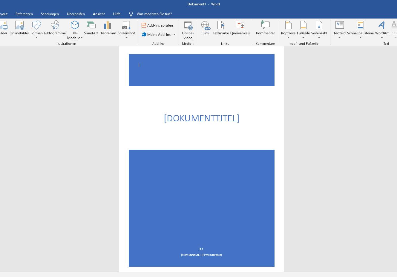 Word Deckblatt Erstellen So Gehts