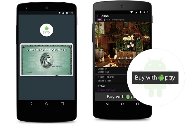 Android Pay AMEX