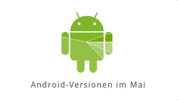 Android-Versionen im Mai: Lollipop kratzt an der 10 Prozent-Marke