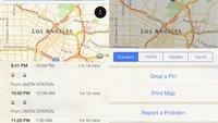 Apple Maps: iOS 9 soll Navigation mit öffentlichen Verkehrsmitteln und in Gebäuden ermöglichen