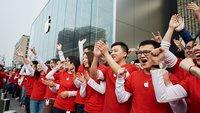 iPhone-Verkäufe in China sollen um 33 Prozent gestiegen sein