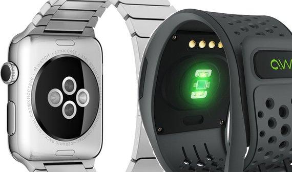 Pulsmessung: Apple Watch gegen Mio Alpha