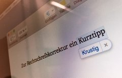 Rechtschreibprüfung am Mac...