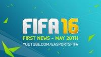 FIFA 16: Erste neue Infos auf Facebook angekündigt