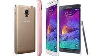 Samsung Galaxy Note 4: Update auf Android 5.1.1 Lollipop gestartet –in Russland