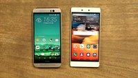 HTC One M9 und Huawei P8 im Video-Vergleich