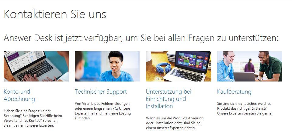 Der Answer Desk Von Microsoft Hilft Euch Bei Sämtlichen Problemenu2026zumindest  Theoretisch.