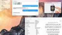 OS X 10.11 und iOS 9: San Francisco soll neue Standardschrift werden