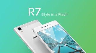 OPPO R7 und R7 Plus: 5 und 6 Zoll-Smartphones mit edlem Metallgehäuse vorgestellt