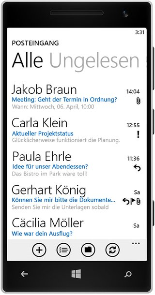 Outlook - Smartphone