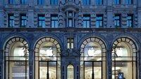 Apple plant Umgestaltung des Regent Street Stores in London