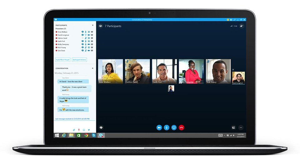 Skype-for-Business - Laptop