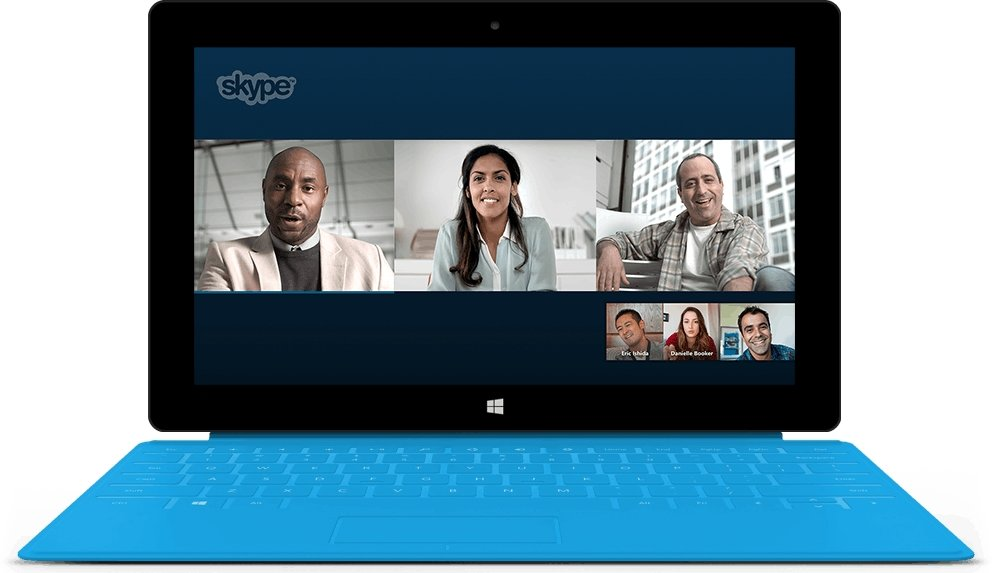 Skype-for-Business-Oberfläche