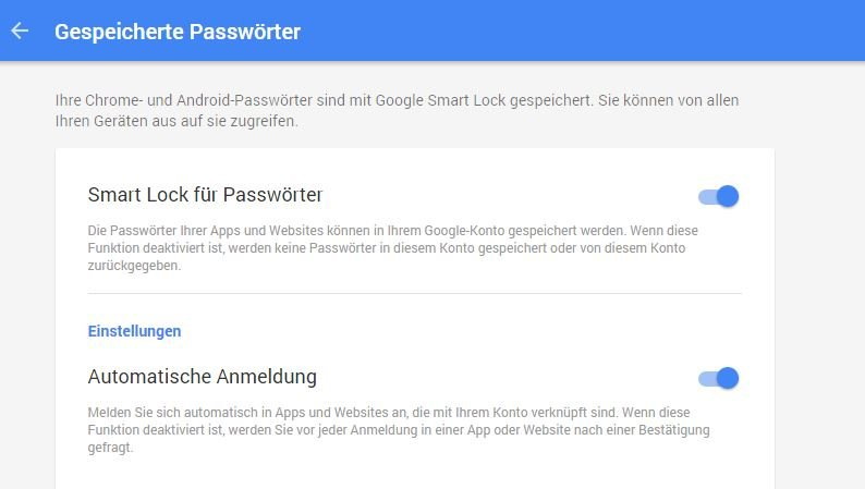 Smart-Lock-passwoerter