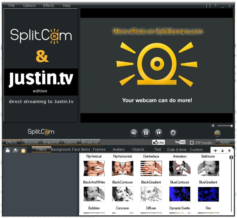 SplitCam-Interface