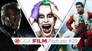 radio giga: Der GIGA FILM Podcast #29 - Mit Suicide Sqaud, Star Wars, Terminator u.a.