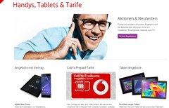 Vodafone-Rechnung online...