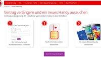 Vodafone-Vertragsverlängerung: so gehts