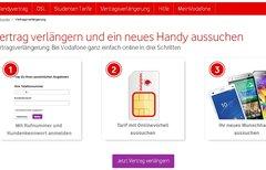 Vodafone-Vertragsverlängerung...