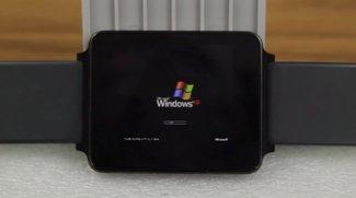 LG G Watch: Windows XP läuft auf Smartwatch [Video]