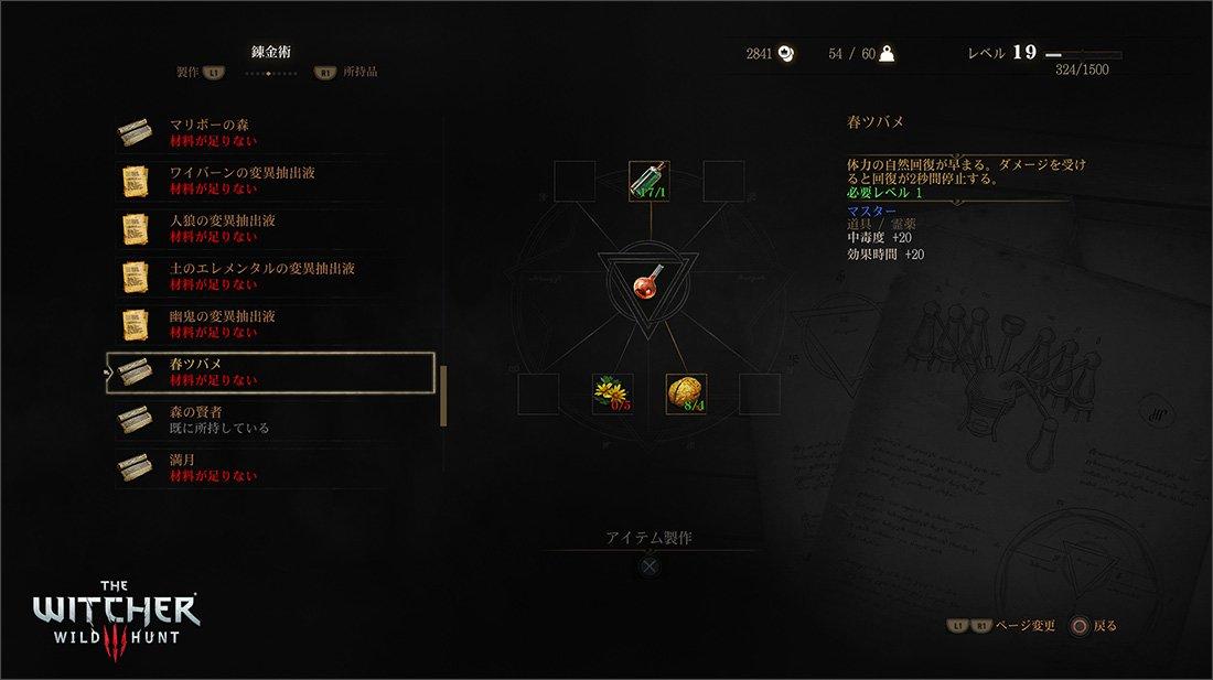 Witcher 3 Handwerk