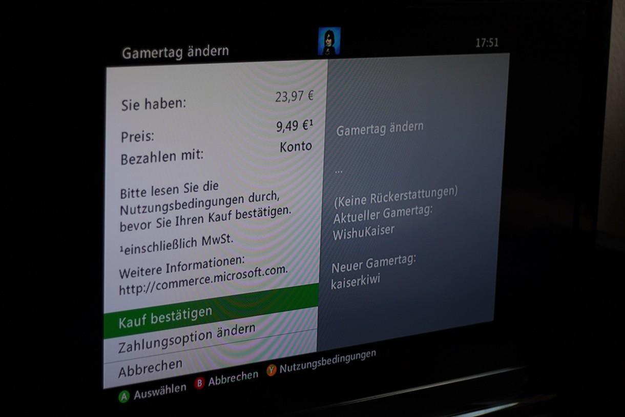 Xbox One Gamertag Und Namen ändern GIGA - Minecraft namen andern 2016