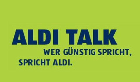 Aldi Talk bietet günstige Mobilfunktarife an.