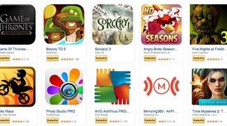 Amazon: 38 Android-Apps im Gesamtwert von 100 Euro für kurze Zeit kostenlos