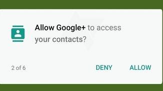 Android M: Gezielte Rechteverwaltung für Apps bestätigt&#x3B; Mockup zeigt Konzept
