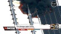 Feuer auf Dach der Apple-Fabrik in Arizona