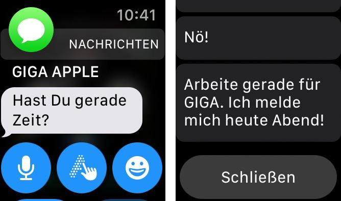 apple watch apps schließen