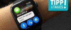 Nachrichten auf der Apple Watch beantworten: Eigene Vorlagen erstellen, so gehts