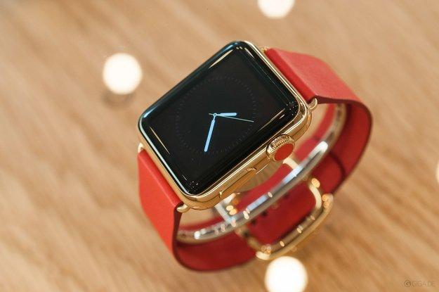 Randerscheinung beim iPhone-Event: Apple Watch bekommt neue Armbänder